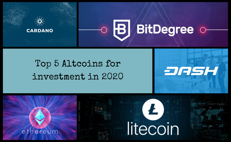 Top 5 Altcoins For Investment In 2020