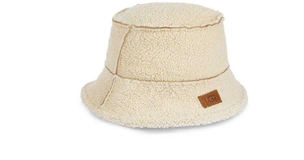 Shearling Bucket Hat